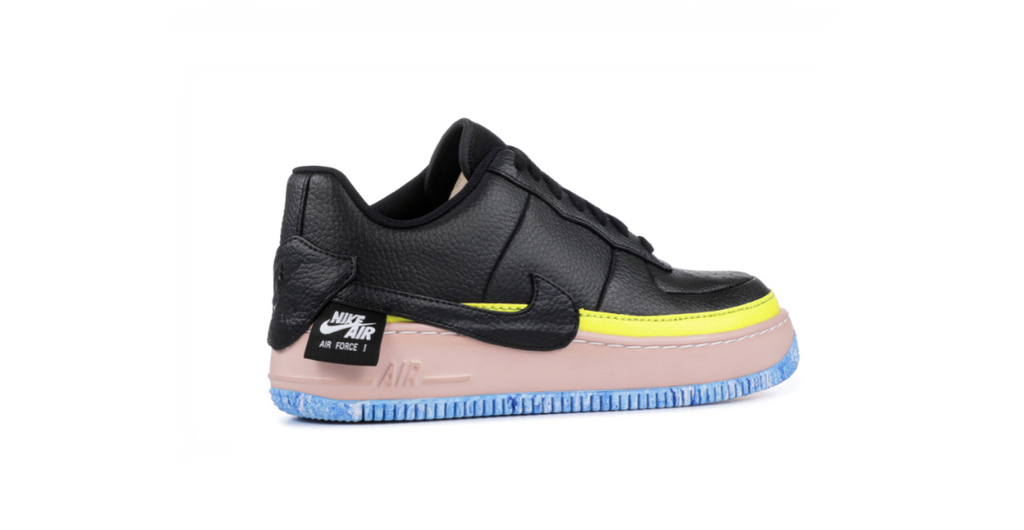 Nike Wmns Air Force 1 Jester XX   Black Yellow