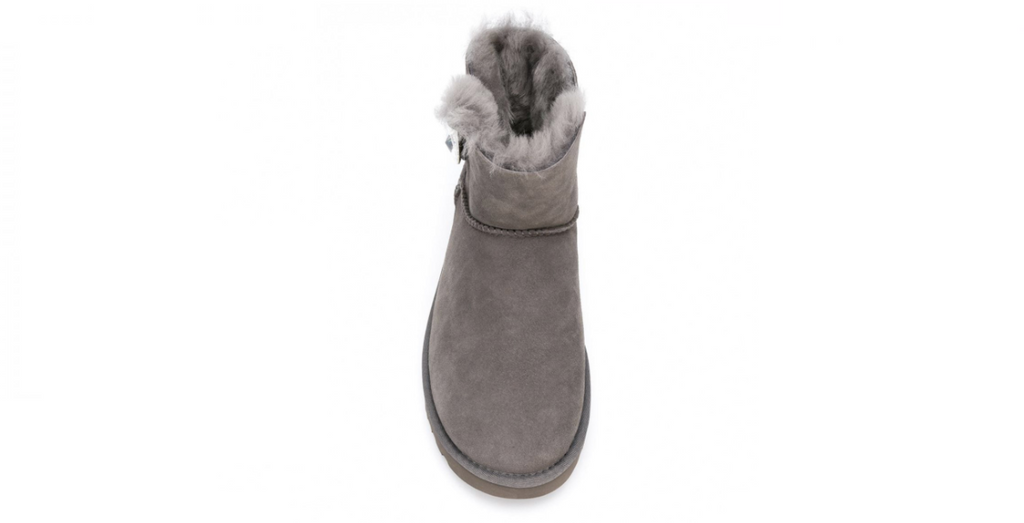 UGG Mini Bailey Button Bling Boots 'Grey' | Foot Placard