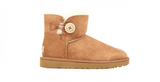 UGG Mini Bailey Button ll Boot | Chestnut