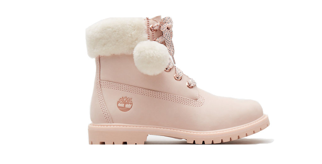 Timberland 6-Inch Shearling Boot Women | Pink