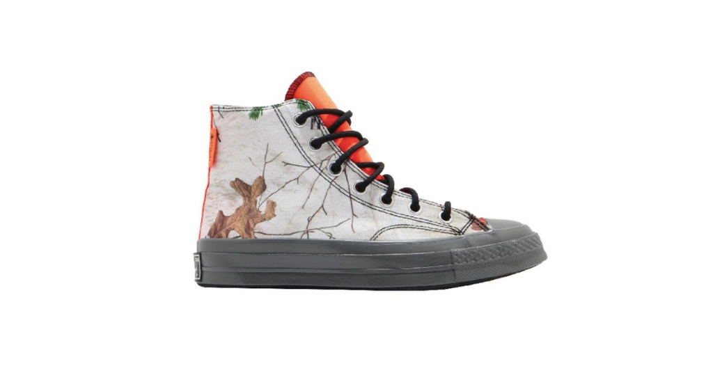 Converse Chuck 70 GTX HI | White - Flash Orange 169365C