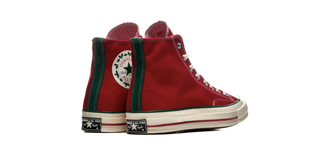 Converse Winter Holidays Chuck 70 High | Egret - Gym Red 170049C