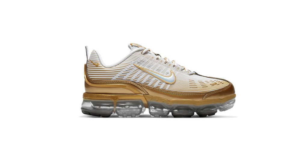 Nike Air Vapormax 360 'Metallic Gold' | Foot Placard