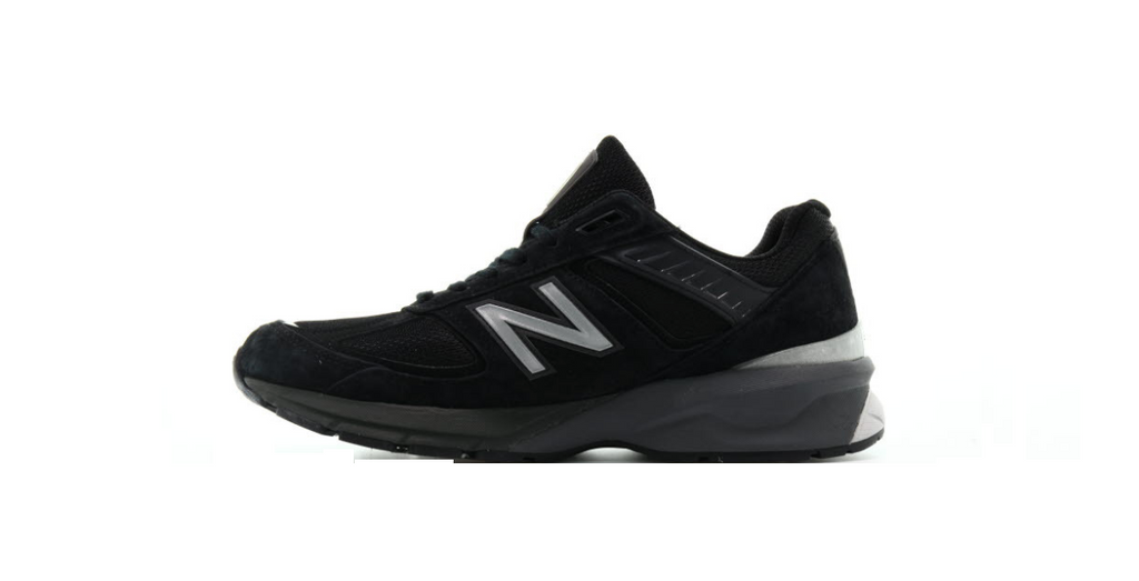 New Balance M990BK5 'Black' | Foot Placard