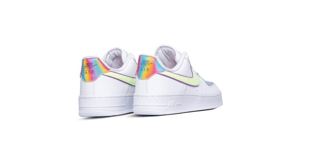 Nike Wmns Air Force 1 '07 Low 'White - Barely Voltr' | Foot Placard