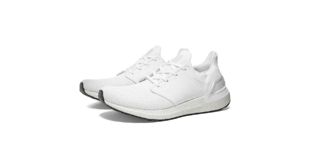 adidas Ultraboost 20 'Triple White' | Foot Placard