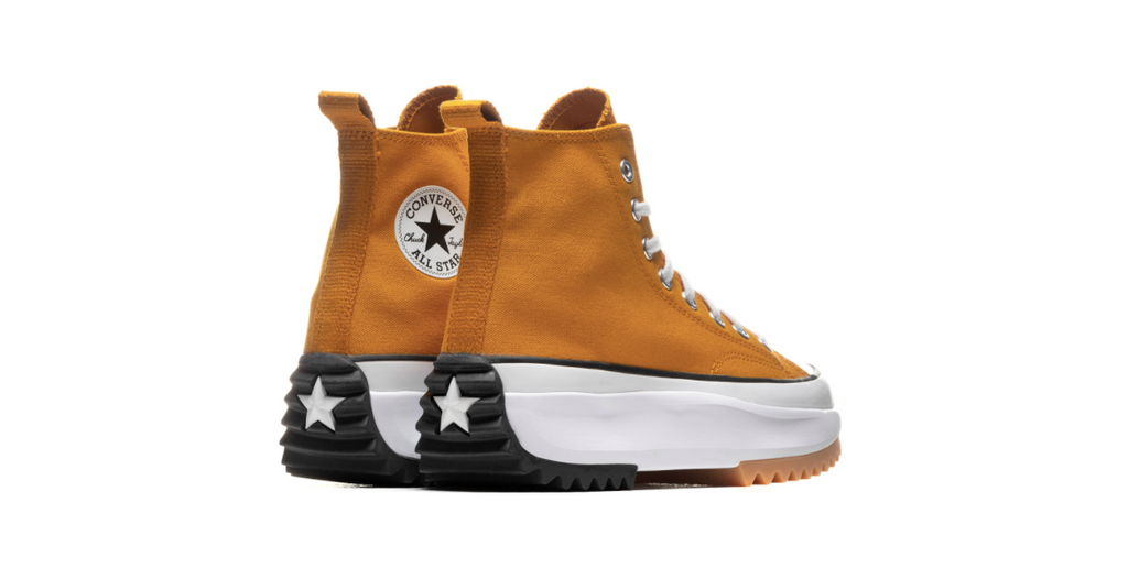 Converse Run Star Hike High | Saffron Yellow