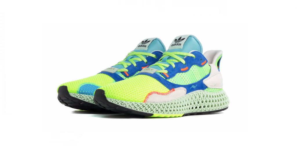 adidas Performance ZX 4000 4D 'Linen Green' | Foot Placard