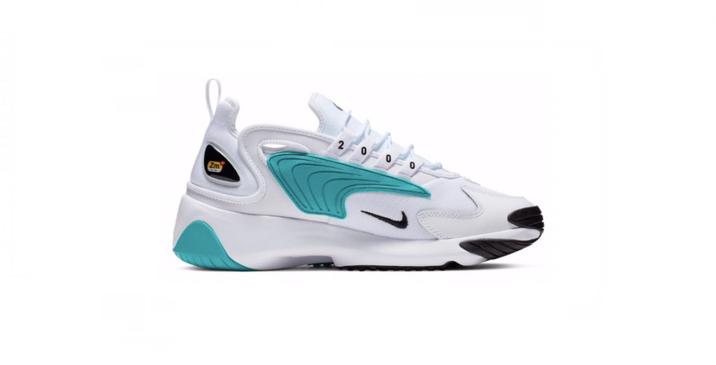 Nike Zoom 2k 'White - Teal Nebula' | Foot Placard