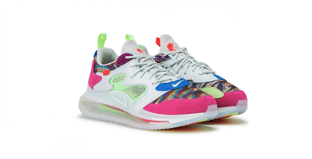 Nike Air Max 720 x OBJ 'Multicolor' | Foot Placard