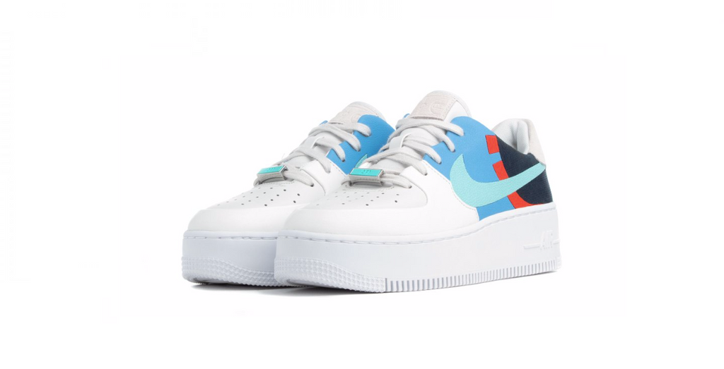 Nike Air Force 1 Sage Low LX 'Platinum Tint' | Foot Placard