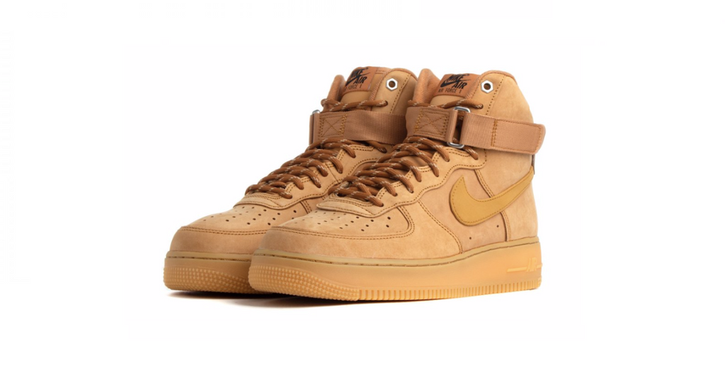 Nike Air Force 1 High '07 WB 'Flax - Wheat' | Foot Placard