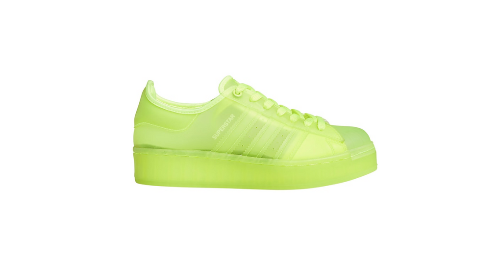 adidas Superstar Jelly 'Solar Yellow' | Foot Placard