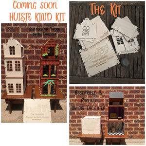 Gender Neutral Play House DIY KIT