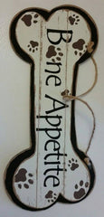 Giftcraft Bone Appetite Wall Sign