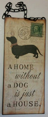 Giftcraft Dog Wall Sign