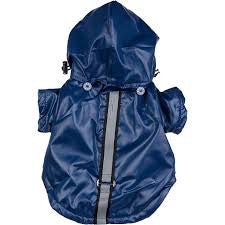 Pet Life Blue Rainwear Coat