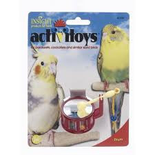 Insight Activitoys Drum Bird Toy