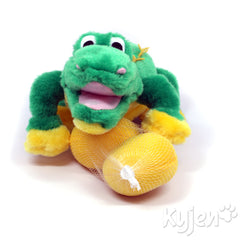 Plush Puppies Egg Babies Alligator
