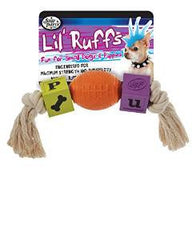 Four Paws Lil' Ruffs Football and Rope