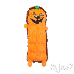 Plush Puppies Halloween Squeaker Mat Pumpkin