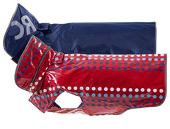 RC Pet Red Dots Yaletown Slicker Jacket