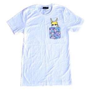 Wilbur Donut Pocket Tee (White)