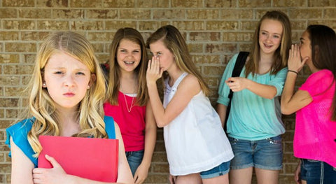 Bullying Hurts -Just Say No To Bullying -Girls bullying another girl