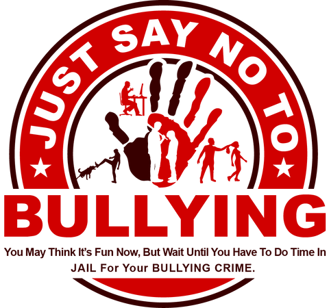 Just Say No To Bullying Logo