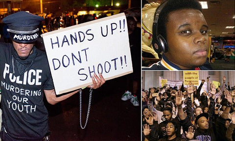 Michael Brown--Hands Up Don't Shoot