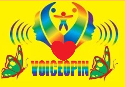 Voiceopin Logo Sign
