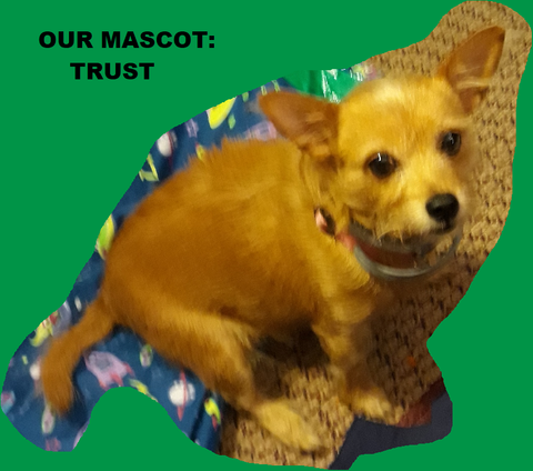 Trust: Our Mascot Dog