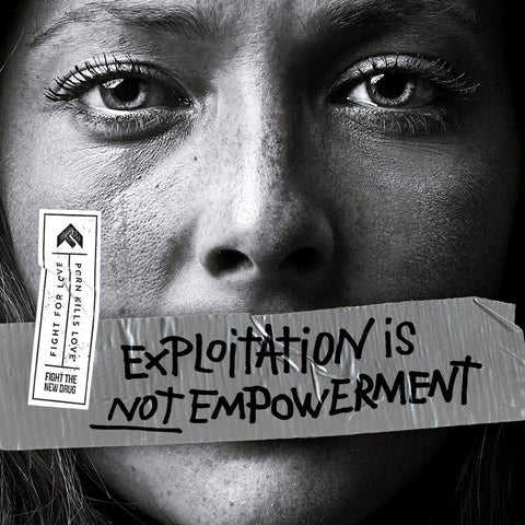 Child Pornography Woman who has been abused--exploration by pornography