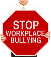 Stop Bullying In The Work Place-Bullying Hurts -Just Say No To Bullying Logo