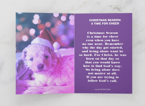 Christmas Card-Feeling Lonely And Blue At Xmas You'll Cherish Love Christmas Cards