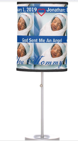 Lamp-God Sent Me An Angel-Pampered Prince Boy or Adorable Toddler Boy You'll Cherish Love Lamp