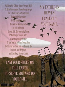 Blanket And Throw-Heavenly Father Up Above We Pray You'll Cherish Love Blanket And Throw - Voiceopin International: Child Abuse Information & Online Shopping Center