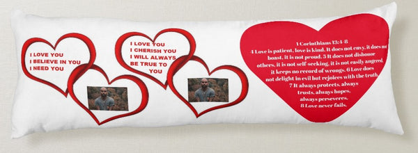 Body Pillow-A Love Like Ours  You'll Cherish Love Body Pillow