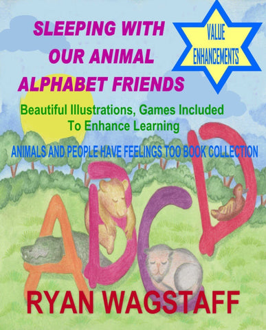 Children's Book-Sleeping With Our Animal Alphabet Friends You'll Cherish Love Children's Book - Voiceopin International: Child Abuse Information & Online Shopping Center