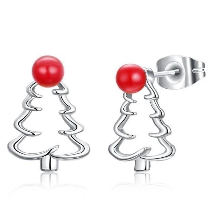 Christmas Tree Stud Designer Earring - Voiceopin International: Child Abuse Information & Online Shopping Center