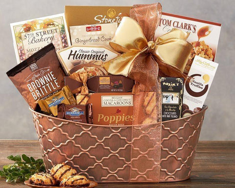 Gift Basket Gourmet Delight - Voiceopin International: Child Abuse Information & Online Shopping Center