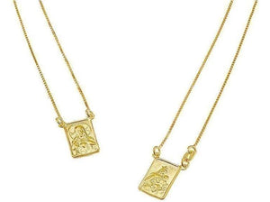 Golden Escapulario Necklace - Voiceopin International: Child Abuse Information & Online Shopping Center