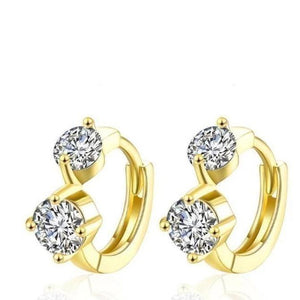 Golden NYC Geometric Half Designer Earring - Voiceopin International: Child Abuse Information & Online Shopping Center