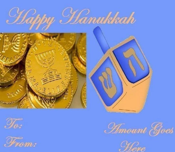 Hanukkah Gift Certificates - Voiceopin International: Child Abuse Information & Online Shopping Center