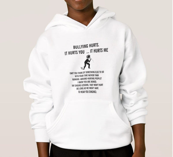 Hoodie And Sweatshirt-Bullying Hurts Just Say No to Bullying You''ll Cherish Love Hoodie And Sweatshirt - Voiceopin International: Child Abuse Information & Online Shopping Center