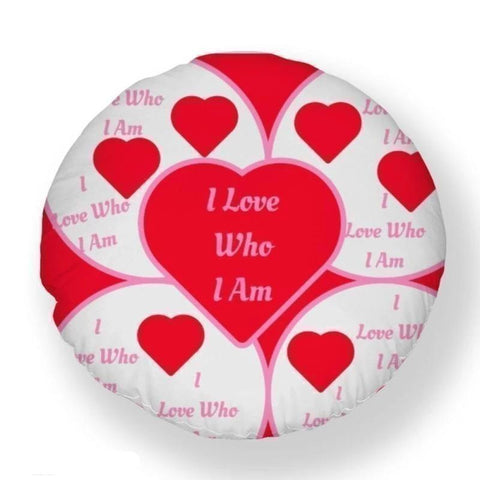 I Love Who I Am Pillow Case - Voiceopin International: Child Abuse Information & Online Shopping Center