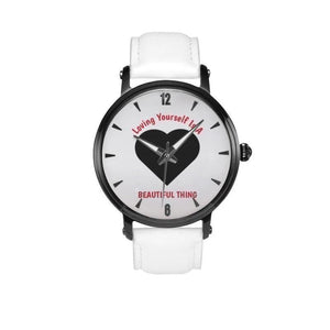 Love Is A Beautiful Thing-White Faced Water Resistant Quartz Watch - Voiceopin International: Child Abuse Information & Online Shopping Center