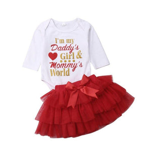 Lovely Newborn Baby Girls Valentine's Day Clothes - Voiceopin International: Child Abuse Information & Online Shopping Center