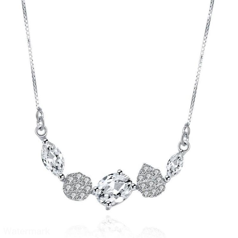 Majesty Dangling Swarovski Designer Sterling Silver Necklace - Voiceopin International: Child Abuse Information & Online Shopping Center