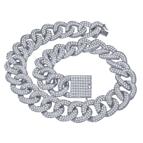 Mannish 25 MM CZ Gold Cuban Chain | 961812 - Voiceopin International: Child Abuse Information & Online Shopping Center